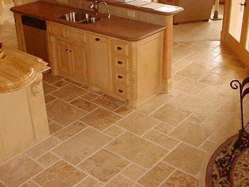 kitchen floor tile pattern ideas photo - 2