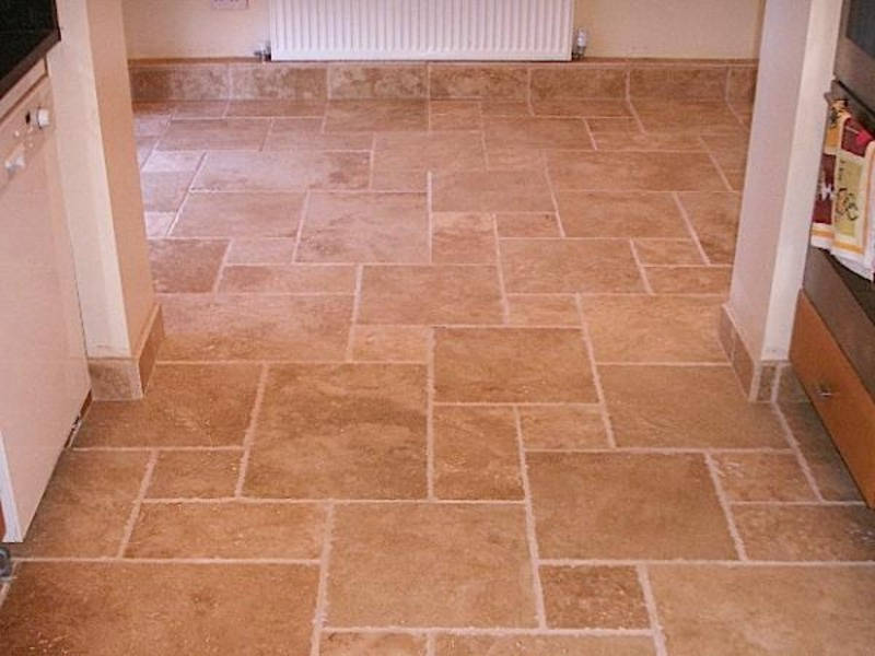 kitchen floor tile pattern ideas photo - 3