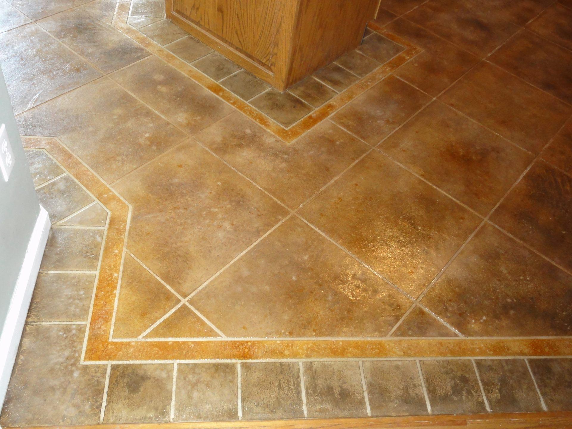 kitchen floor tile pattern ideas photo - 5