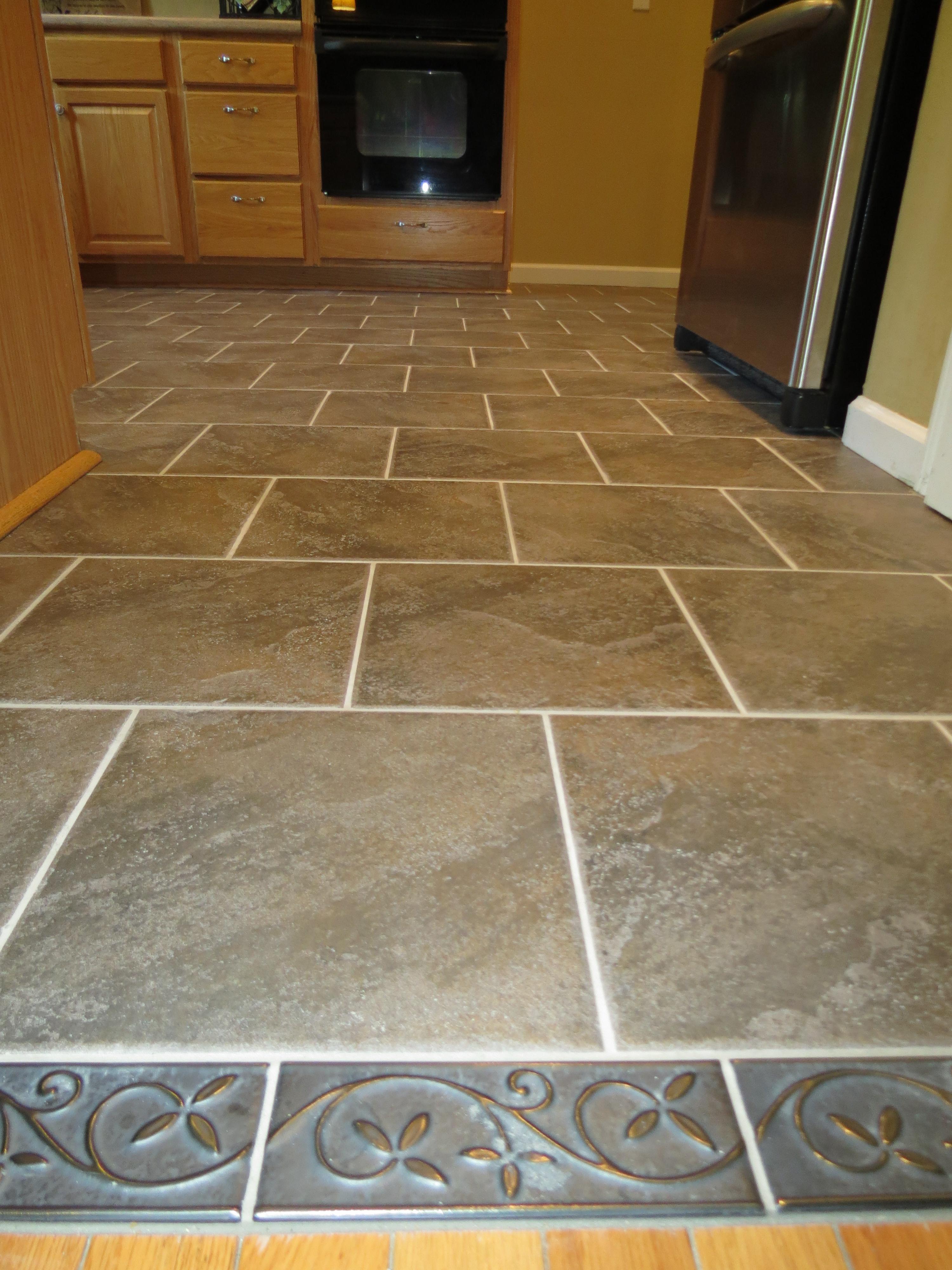 kitchen floor tile pattern ideas photo - 6