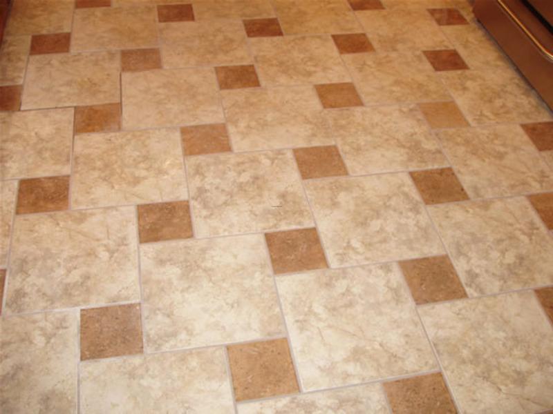kitchen floor tile pattern ideas photo - 9