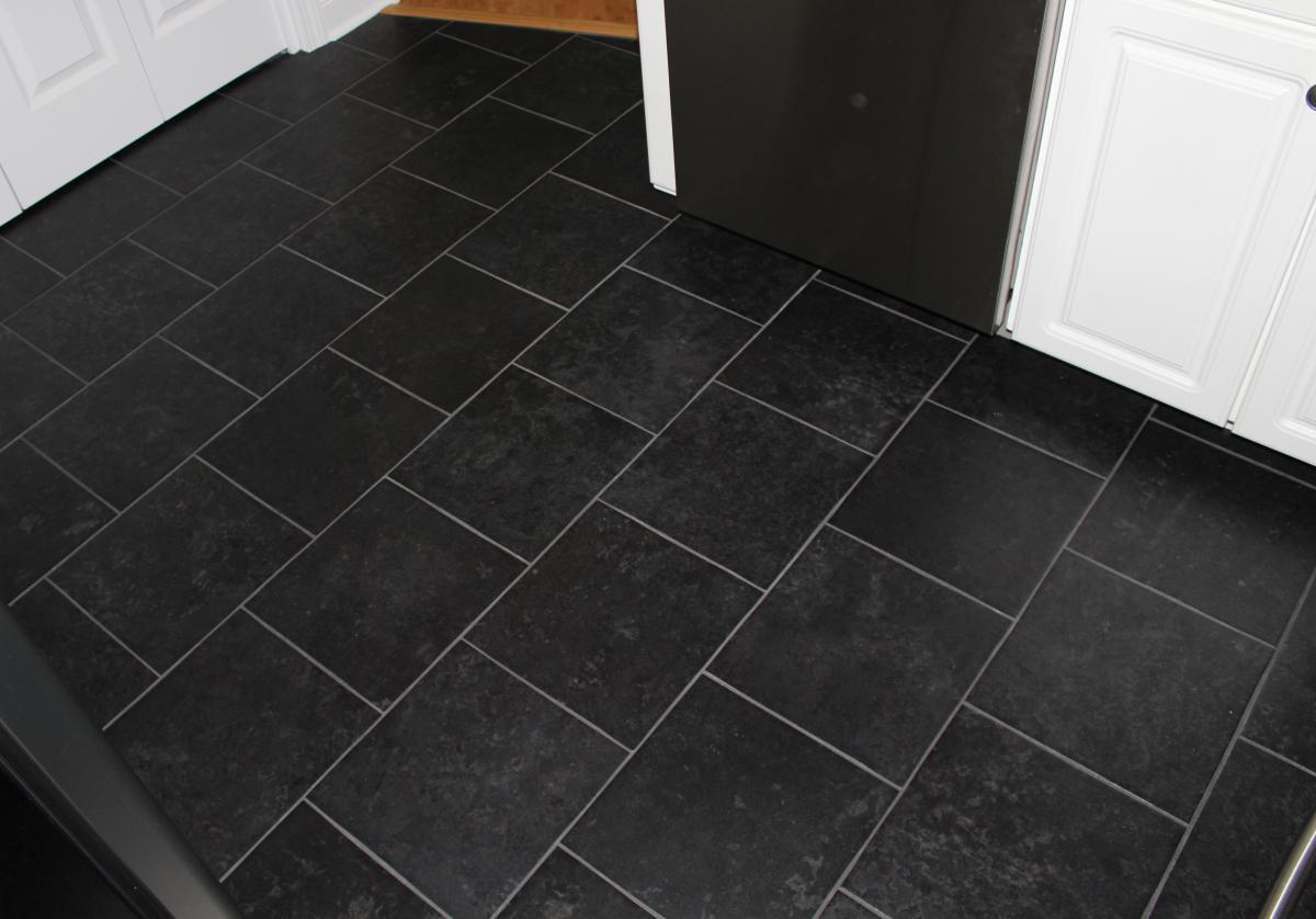 Kitchen Floor Tiles Black Hawk Haven