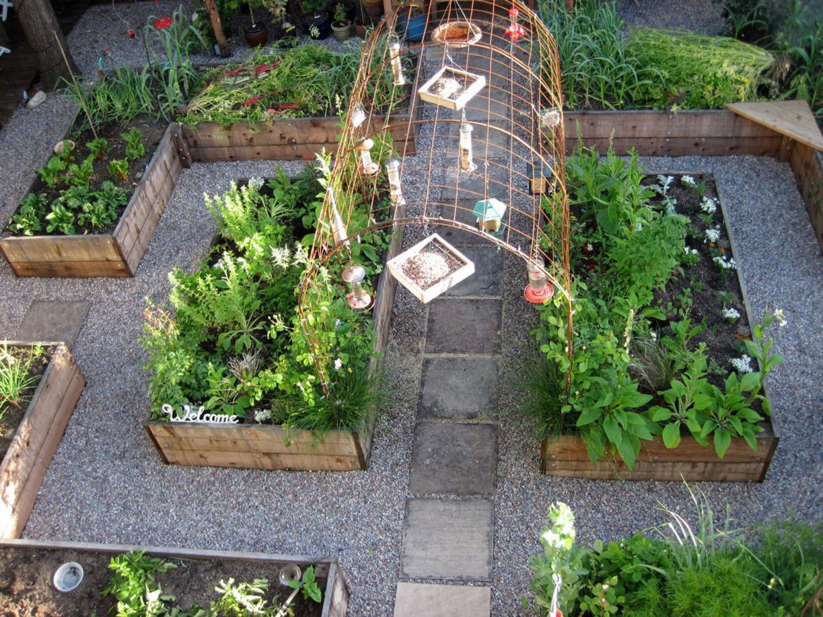 kitchen garden design ideas photo - 1