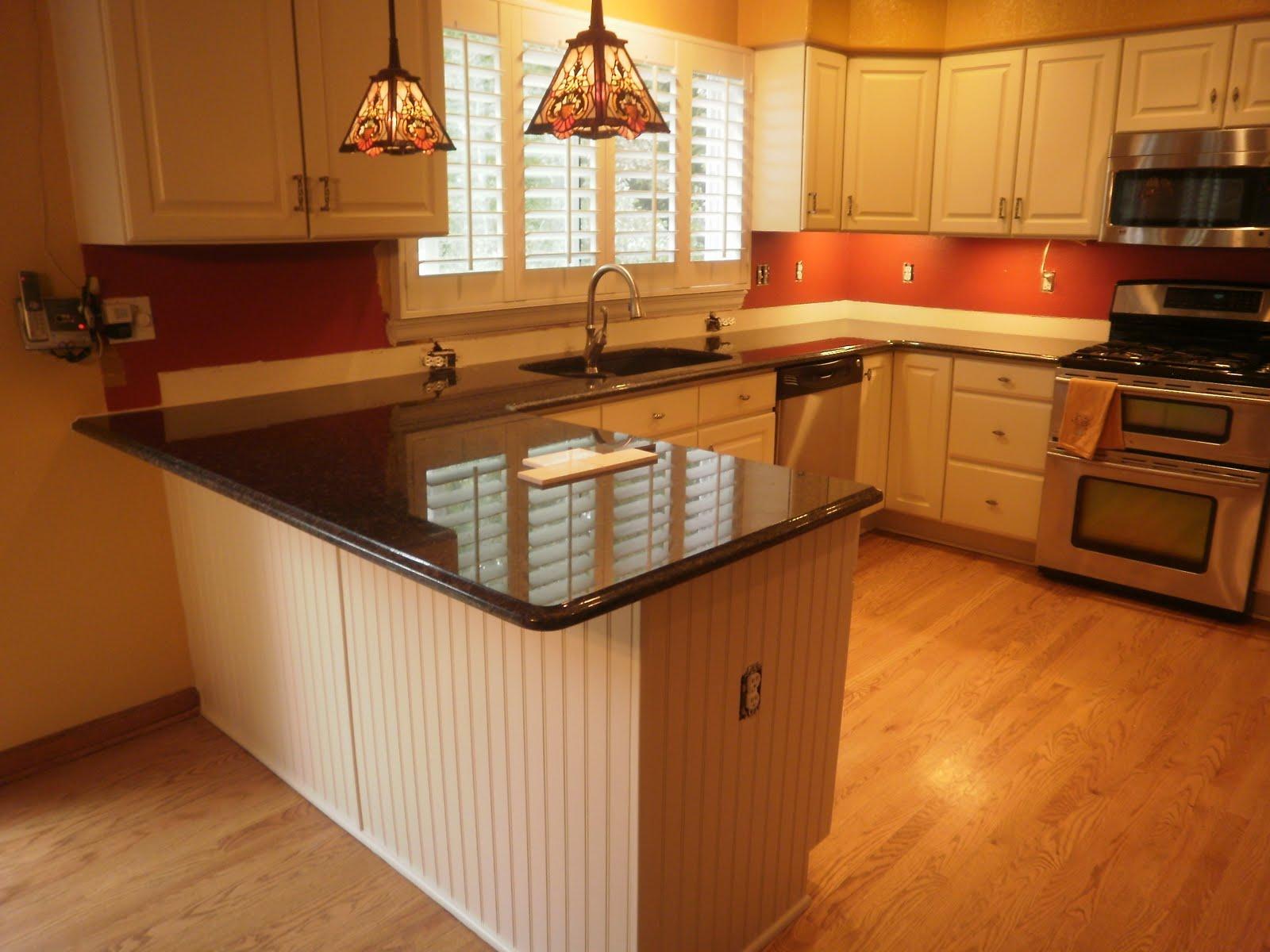kitchen granite countertop design ideas photo - 1