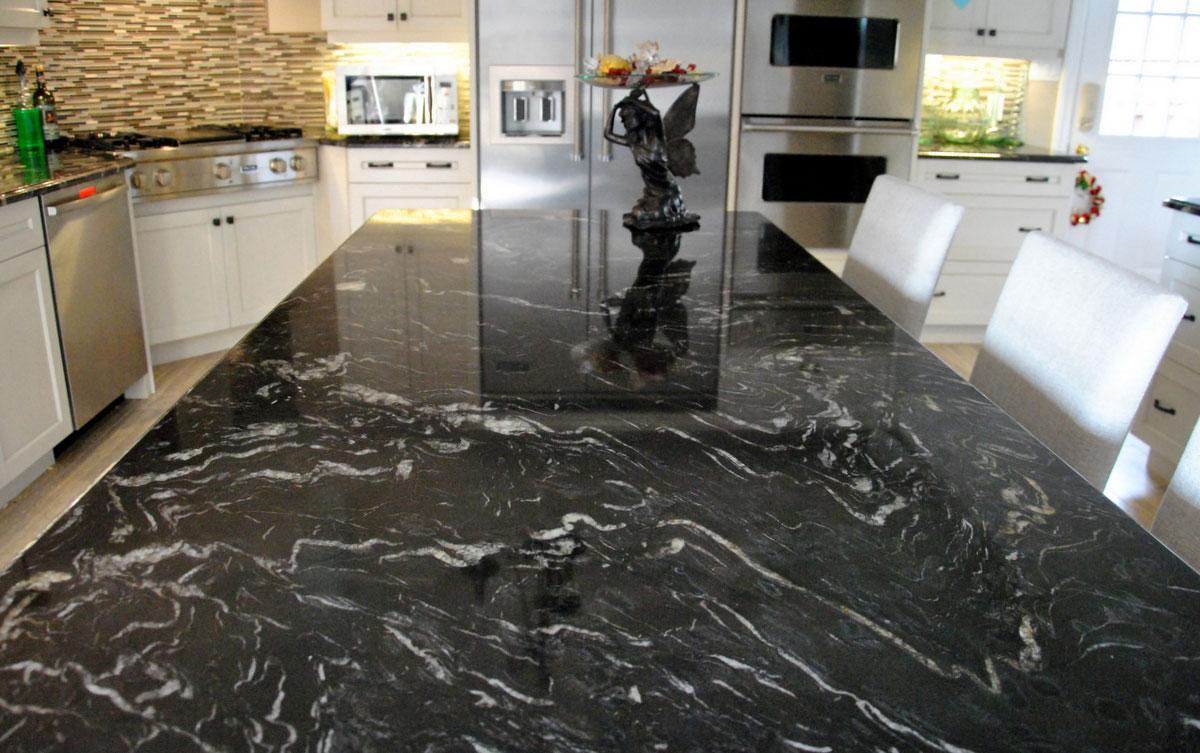 kitchen granite countertop design ideas photo - 2