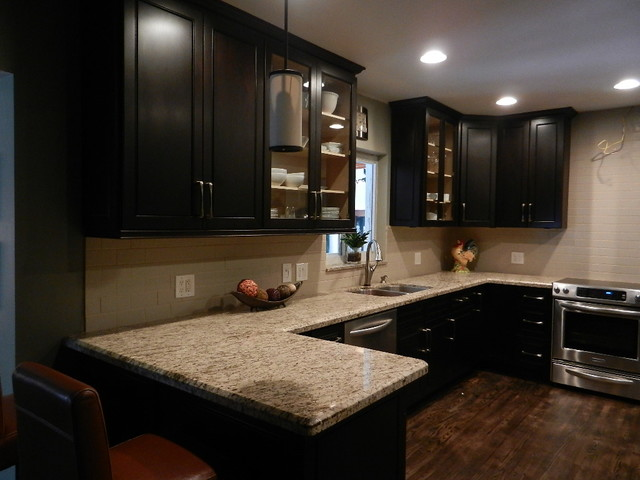 kitchen ideas espresso cabinets photo - 10