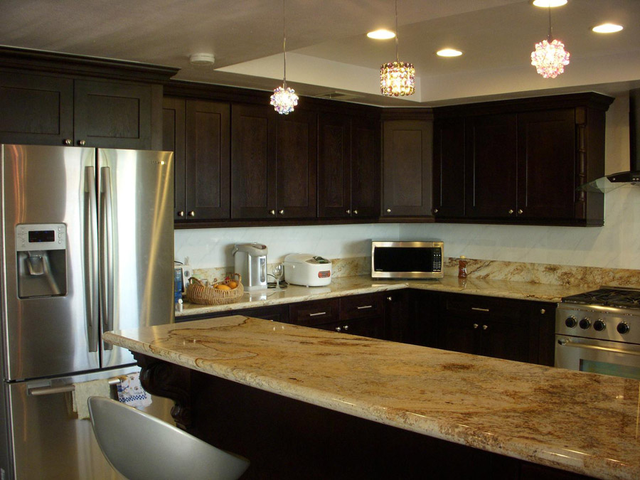 kitchen ideas espresso cabinets photo - 5