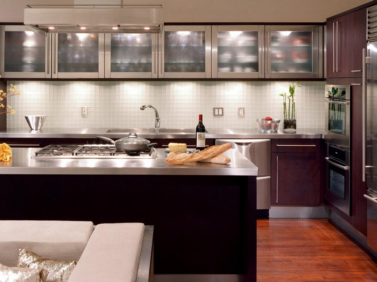 kitchen ideas espresso cabinets photo - 8