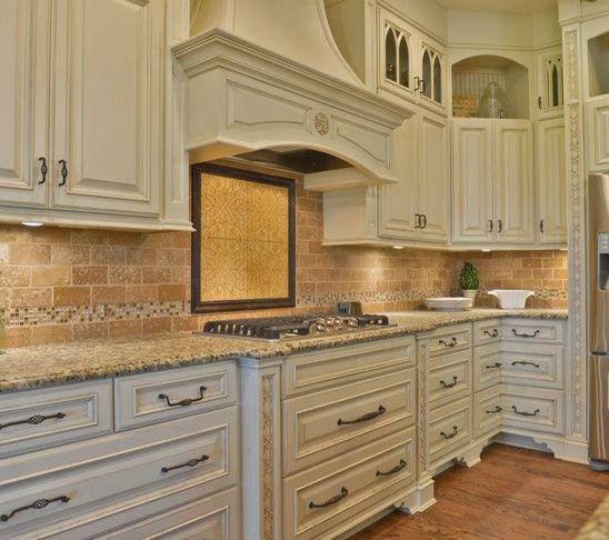 kitchen ideas ivory cabinets photo - 3