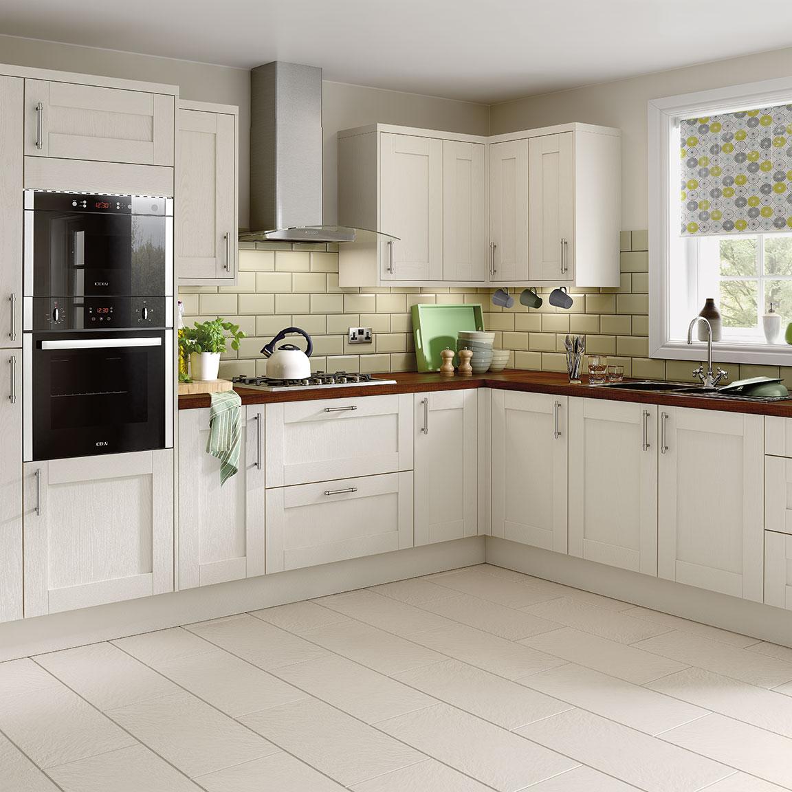 kitchen ideas ivory cabinets photo - 4