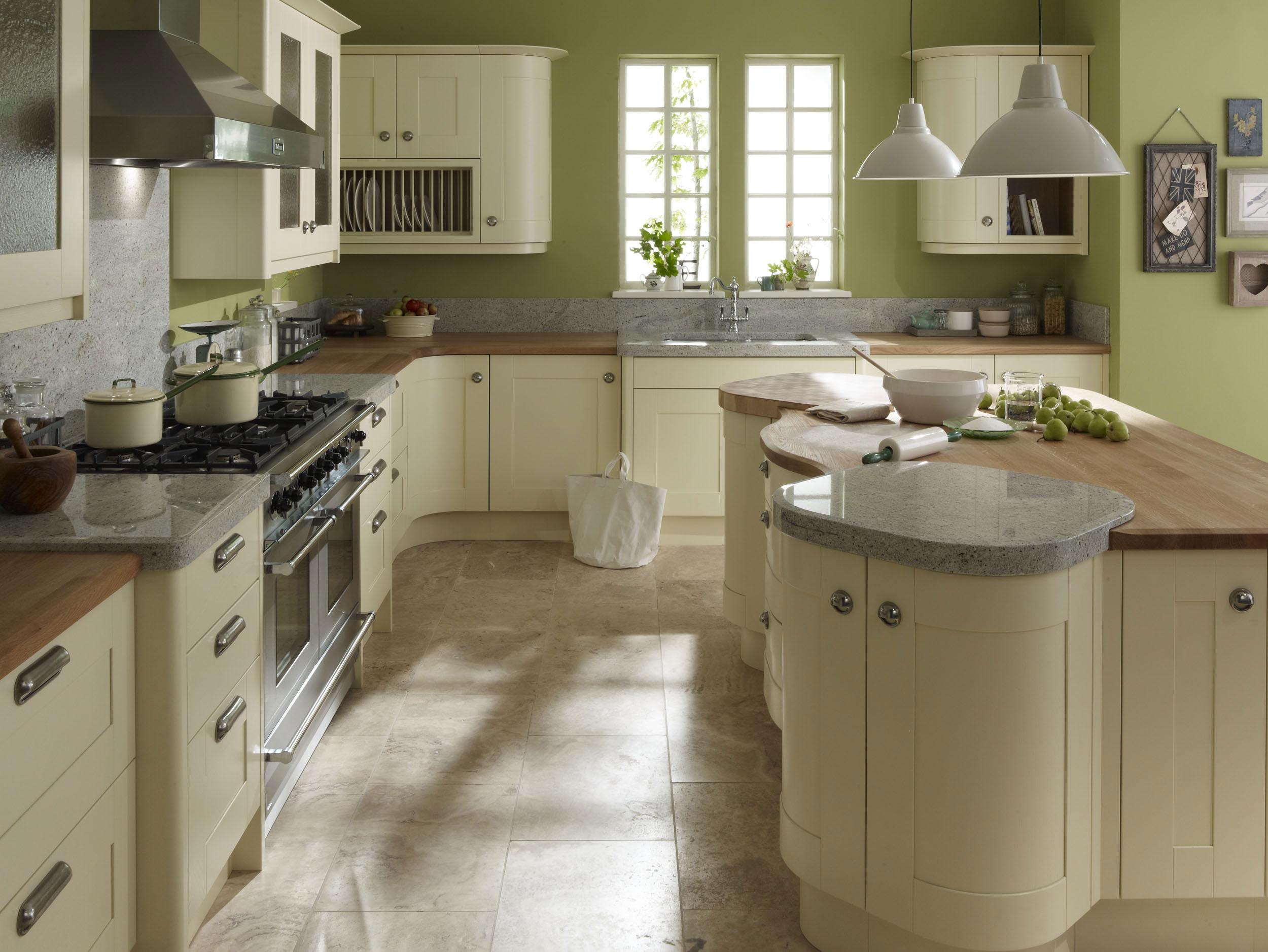 kitchen ideas ivory cabinets photo - 6