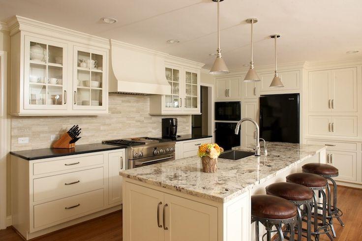kitchen ideas ivory cabinets photo - 7