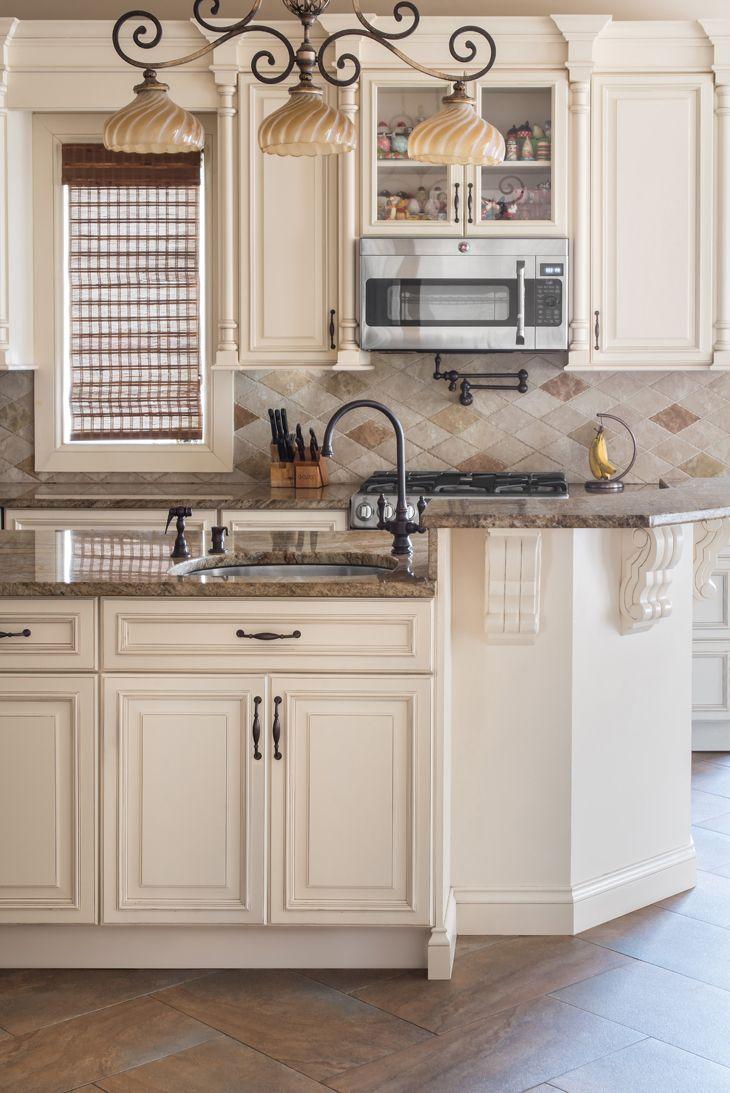 kitchen ideas ivory cabinets photo - 8