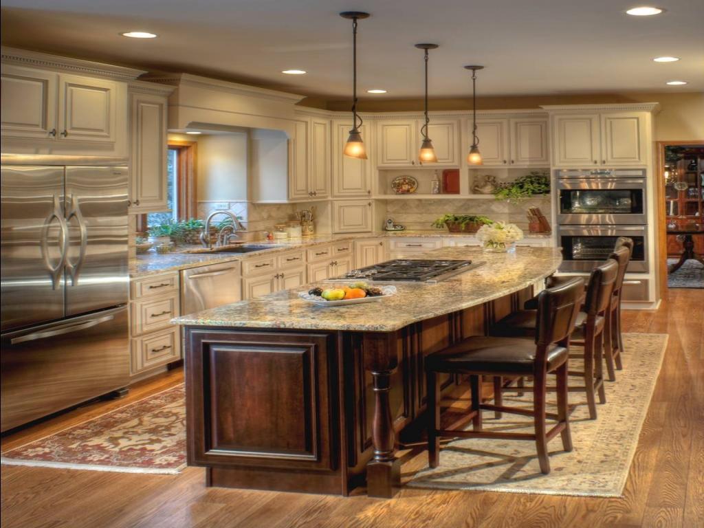 kitchen ideas ivory cabinets photo - 9