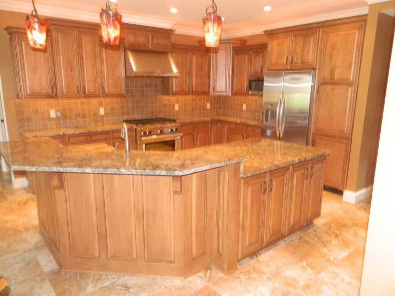 kitchen ideas oak cabinets photo - 10