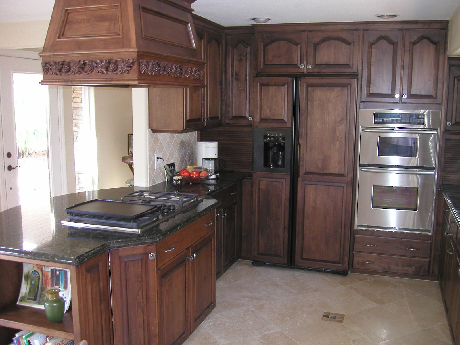 kitchen ideas oak cabinets photo - 3