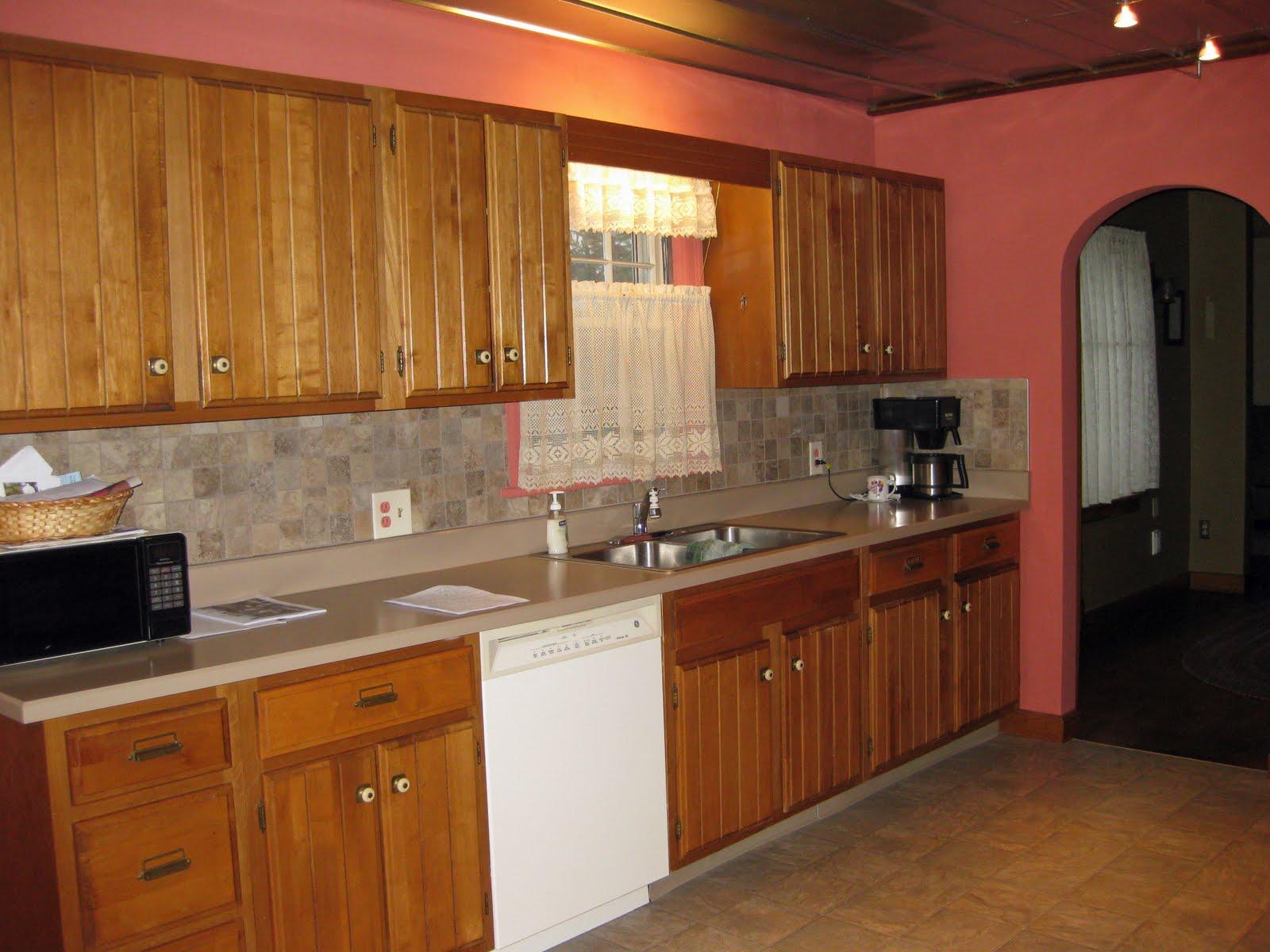 kitchen ideas oak cabinets photo - 5