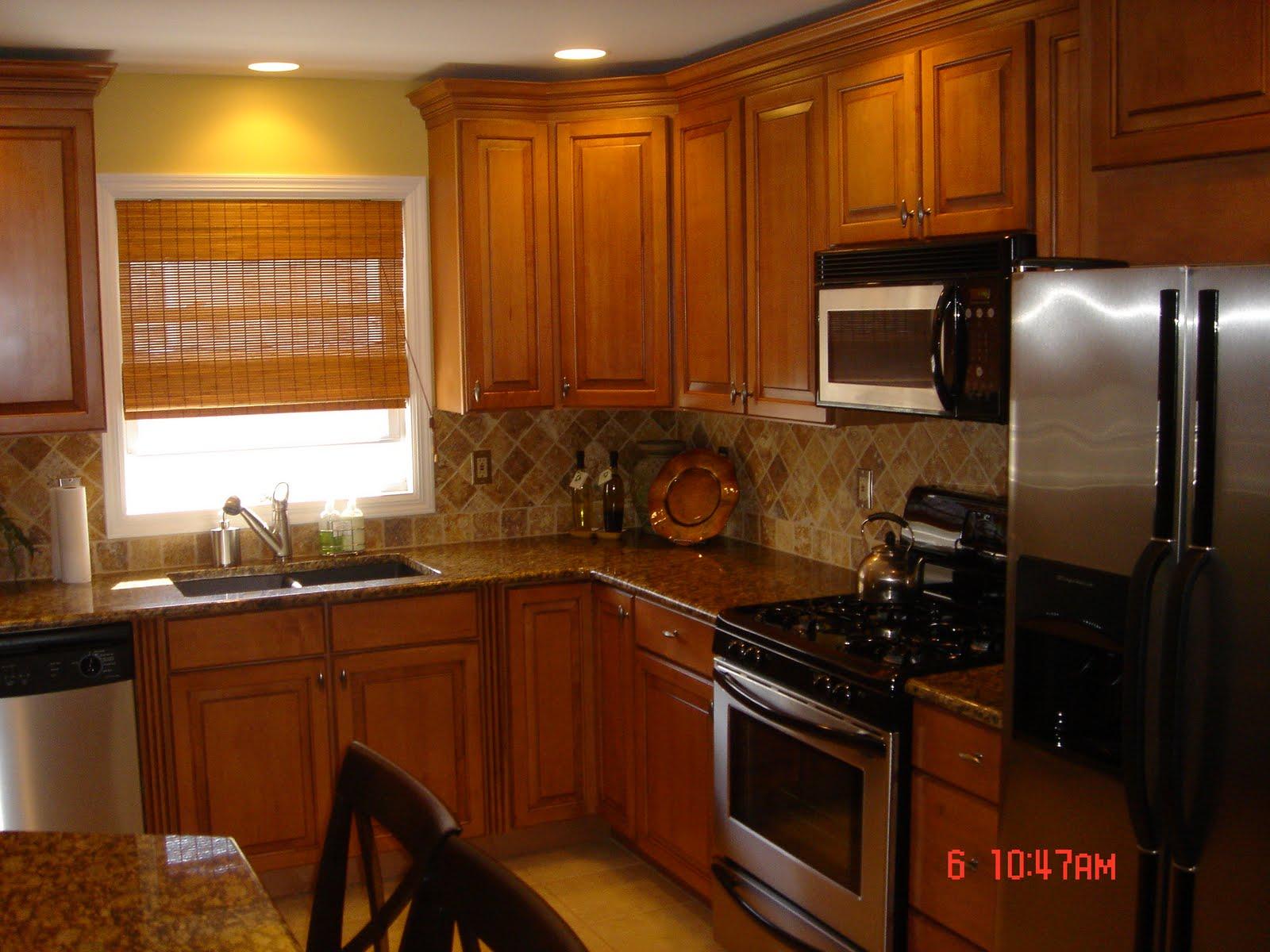 kitchen ideas oak cabinets photo - 7