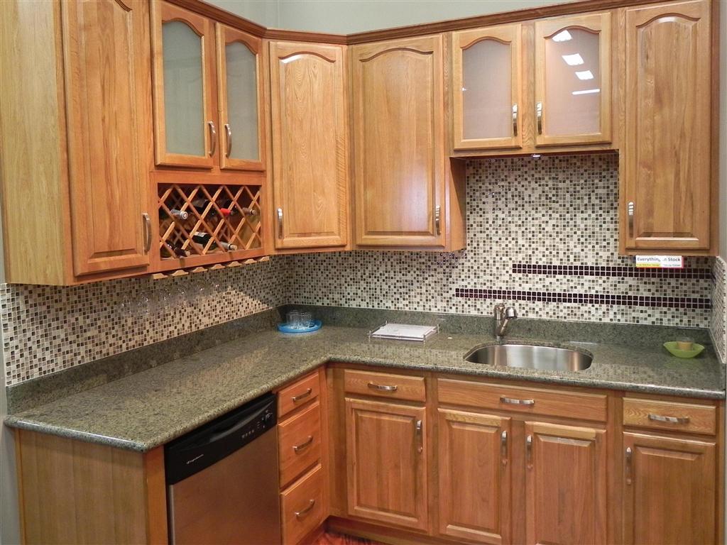 kitchen ideas oak cabinets photo - 8