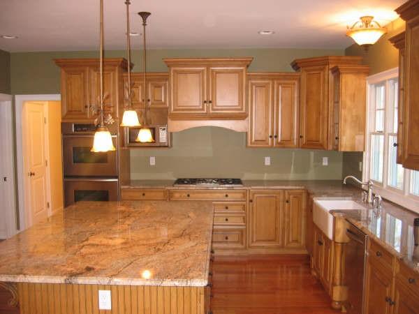 Kitchen Ideas Wood Cabinets Photo   1