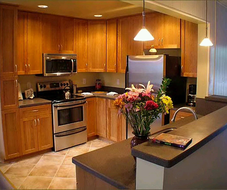kitchen ideas wood cabinets photo - 6