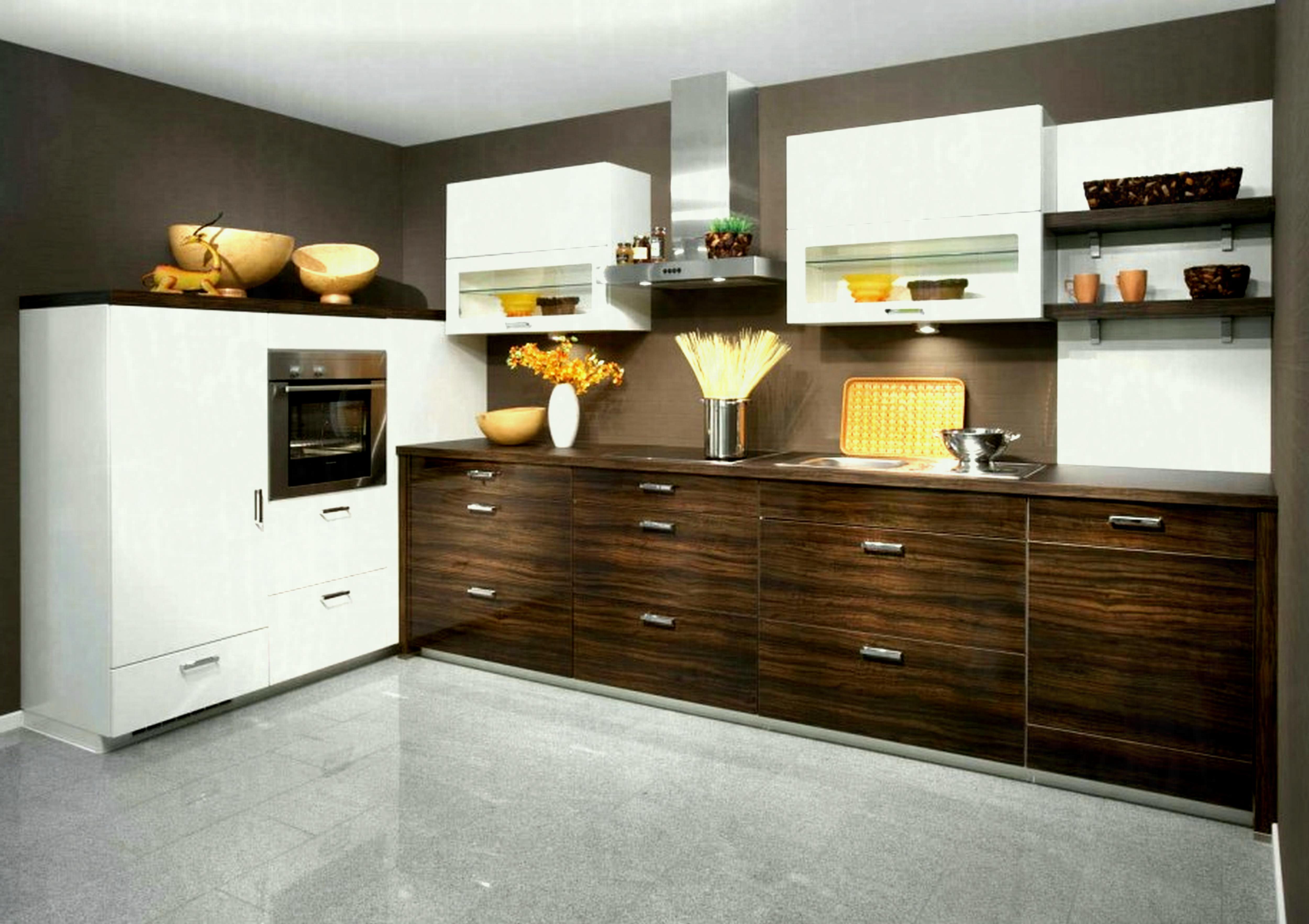 l shaped apartment kitchen photo - 4