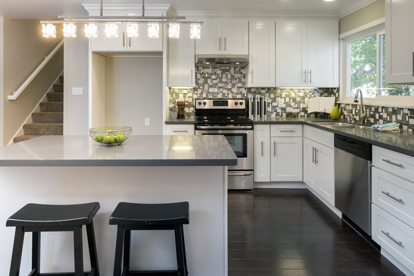 l shaped kitchen photo - 10