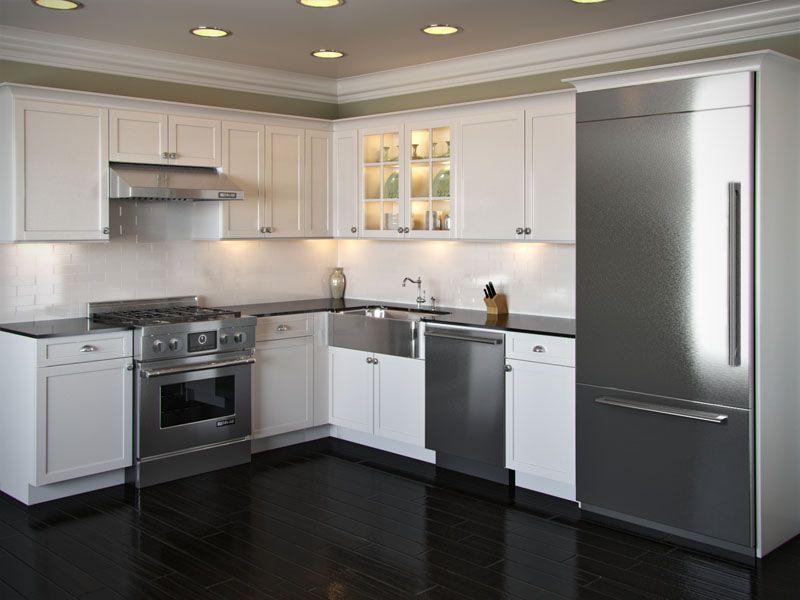 l shaped kitchen photo - 7