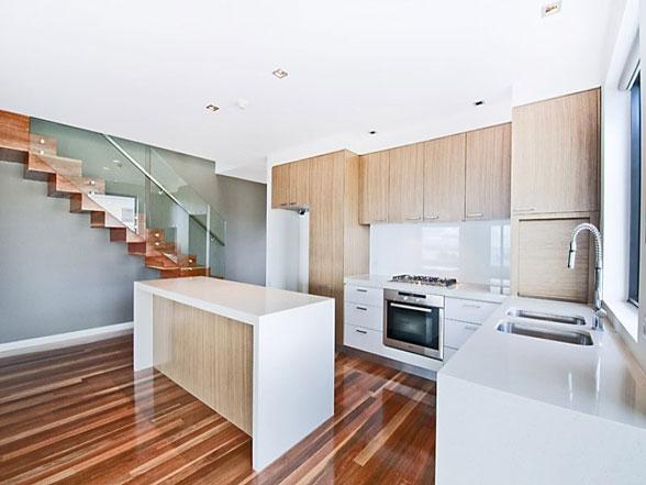 l shaped kitchen appliance layout photo - 3