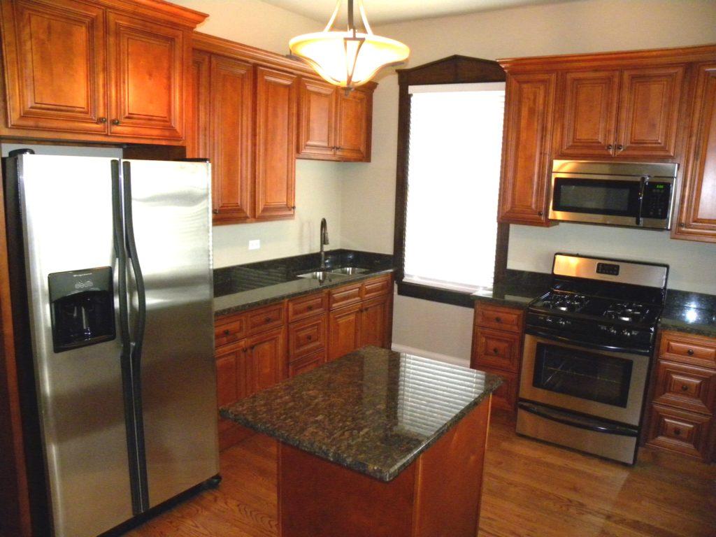 l shaped kitchen appliance layout photo - 4