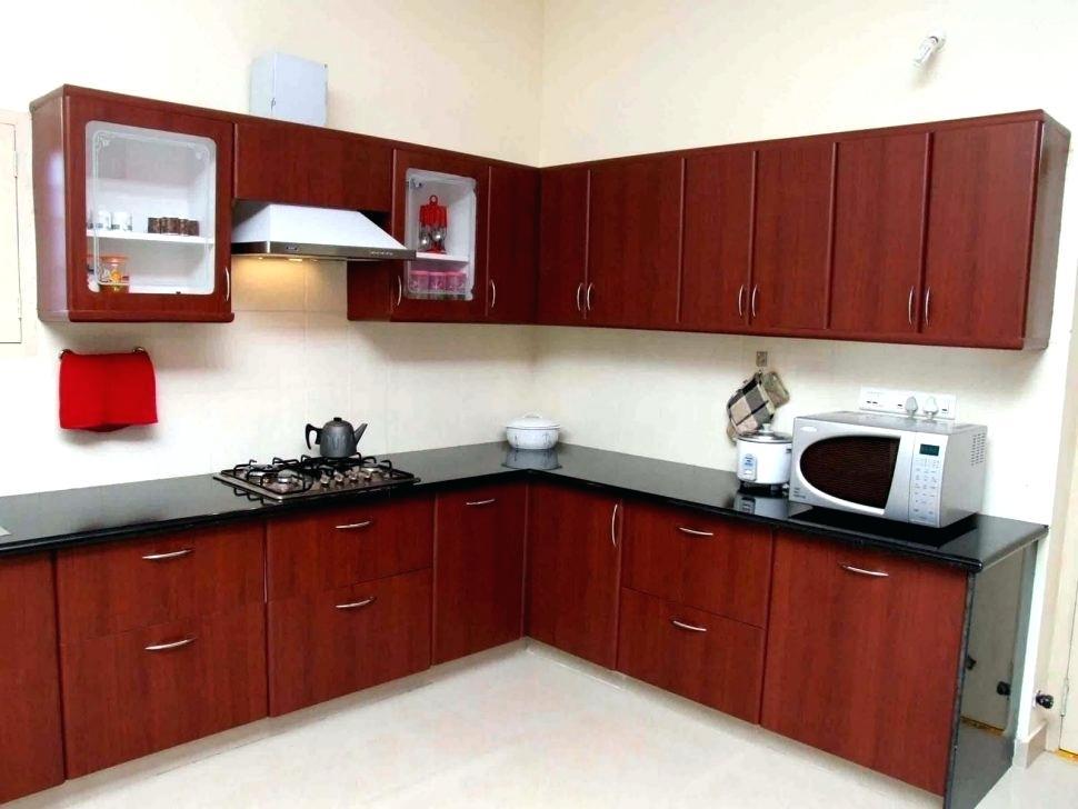 l shaped kitchen appliance layout photo - 8