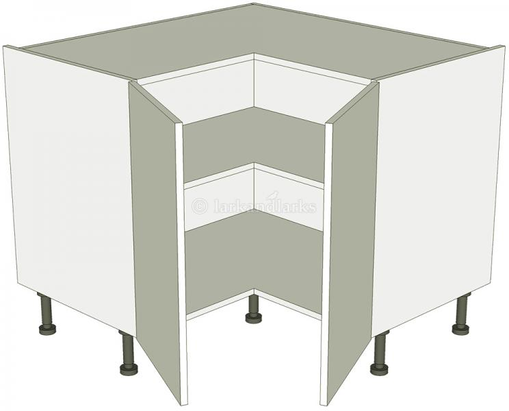 l-shaped kitchen base unit photo - 1