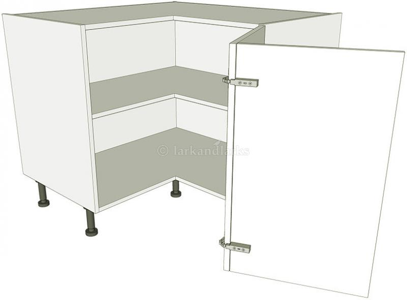 l-shaped kitchen base unit photo - 2