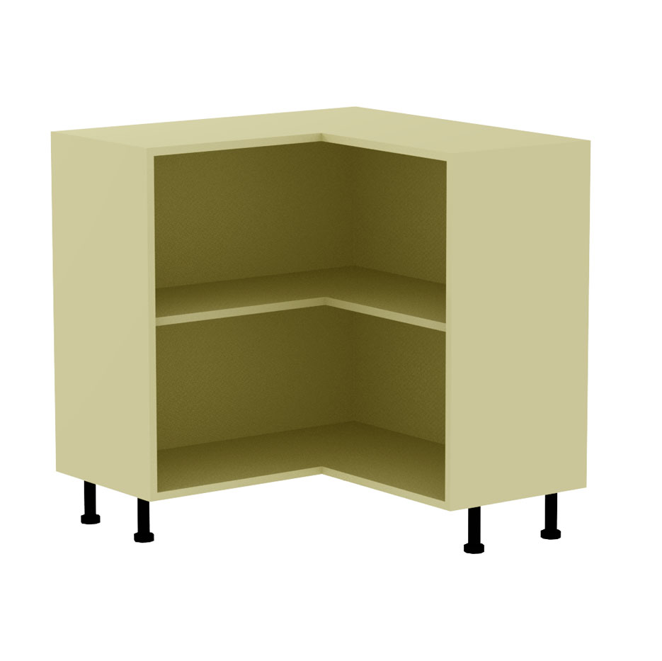 l-shaped kitchen base unit photo - 3