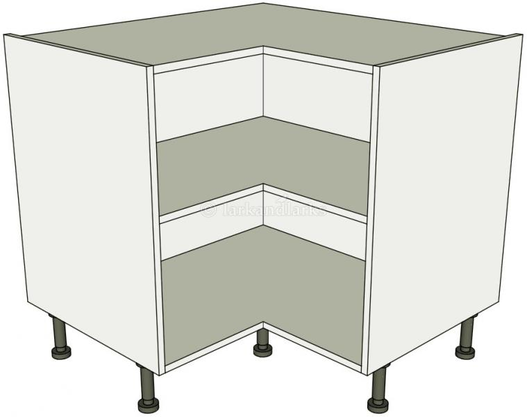 l-shaped kitchen base unit photo - 6