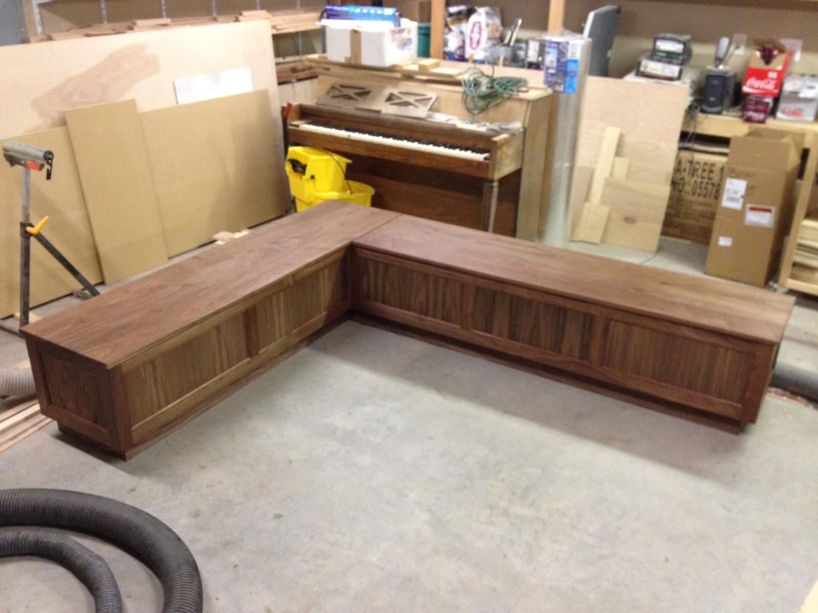 l shaped kitchen bench photo - 6