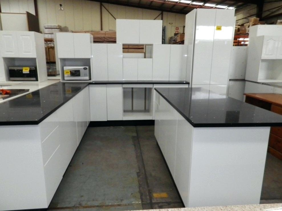 l shaped kitchen bench photo - 8