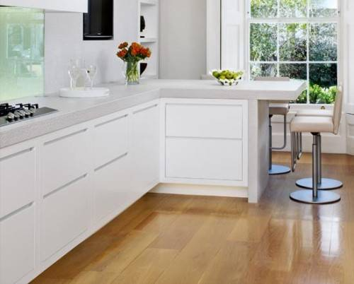 l shaped kitchen booth photo - 3