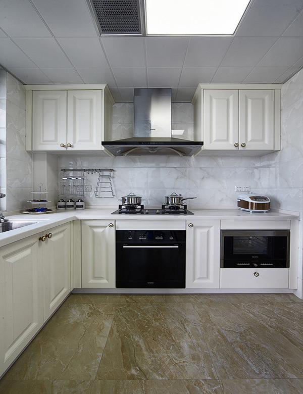 l shaped kitchen cabinets photo - 7