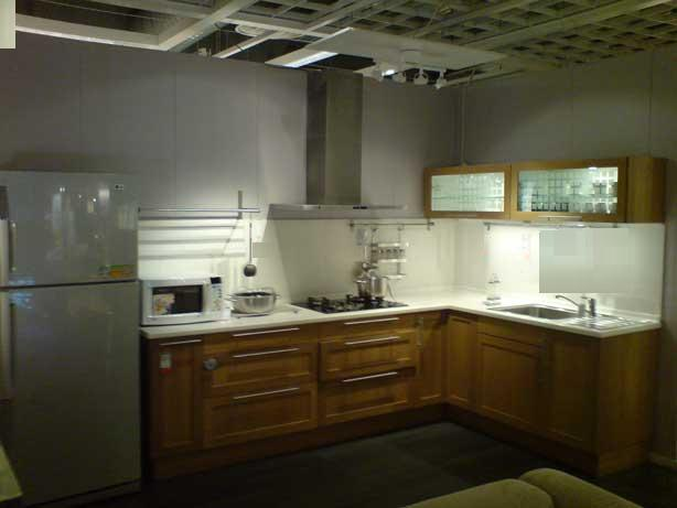 l shaped kitchen cabinets photo - 9