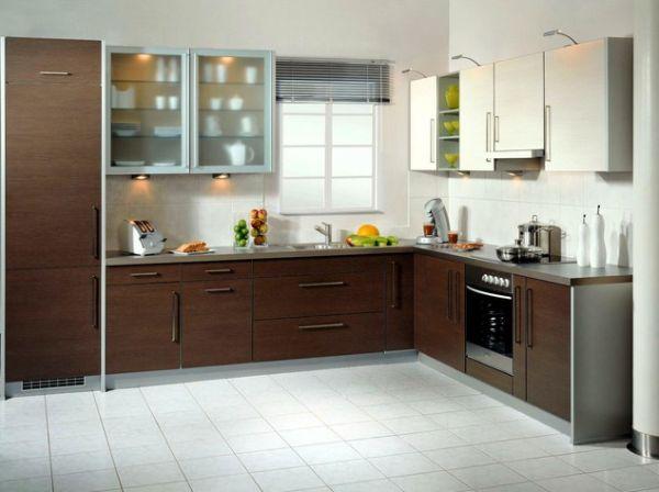 l shaped kitchen design photo - 2