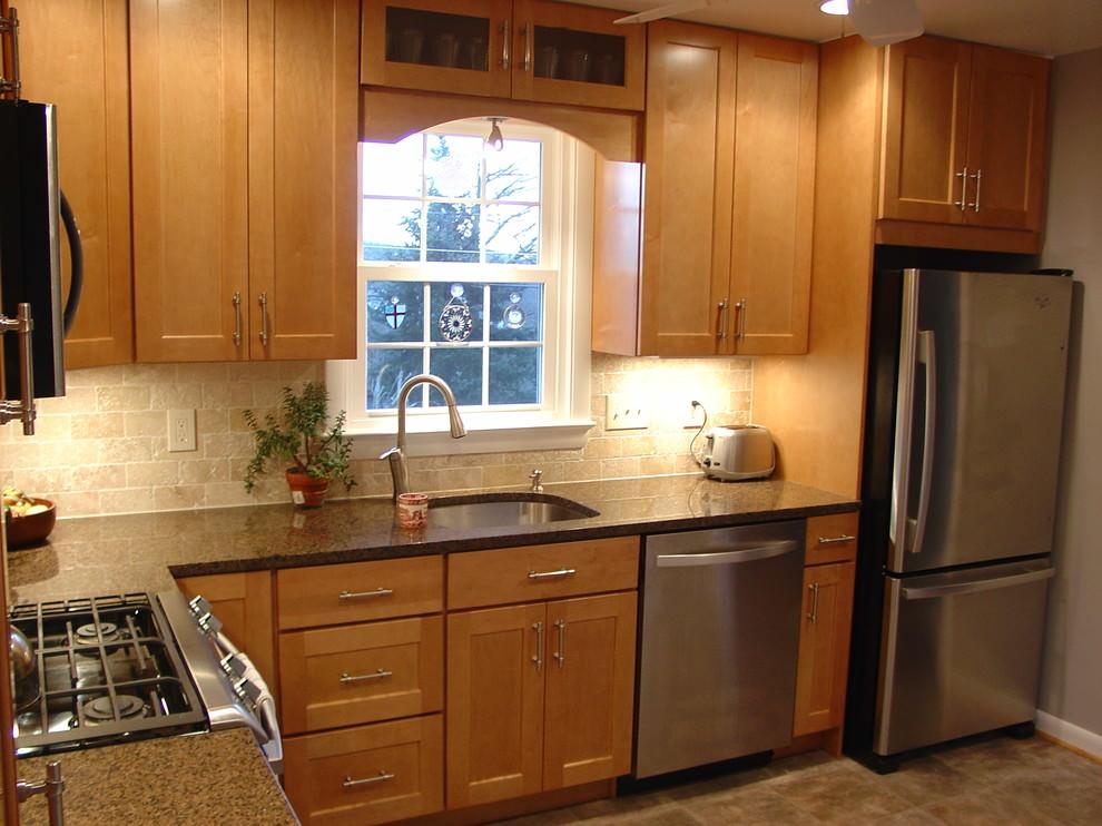 l shaped kitchen design photo - 3
