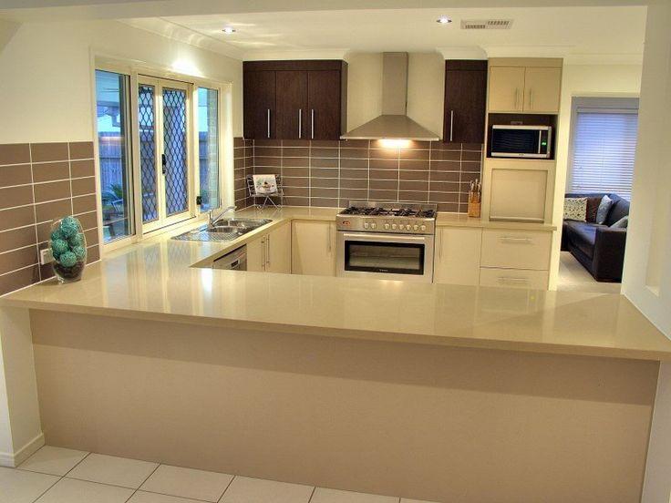 l shaped kitchen design photo - 4