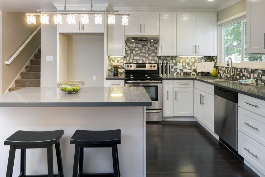 l shaped kitchen design photo - 9
