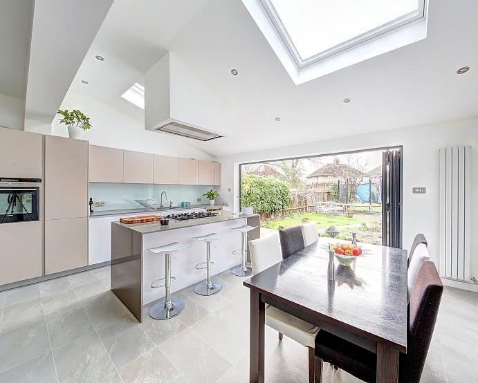l shaped kitchen extension ideas photo - 5