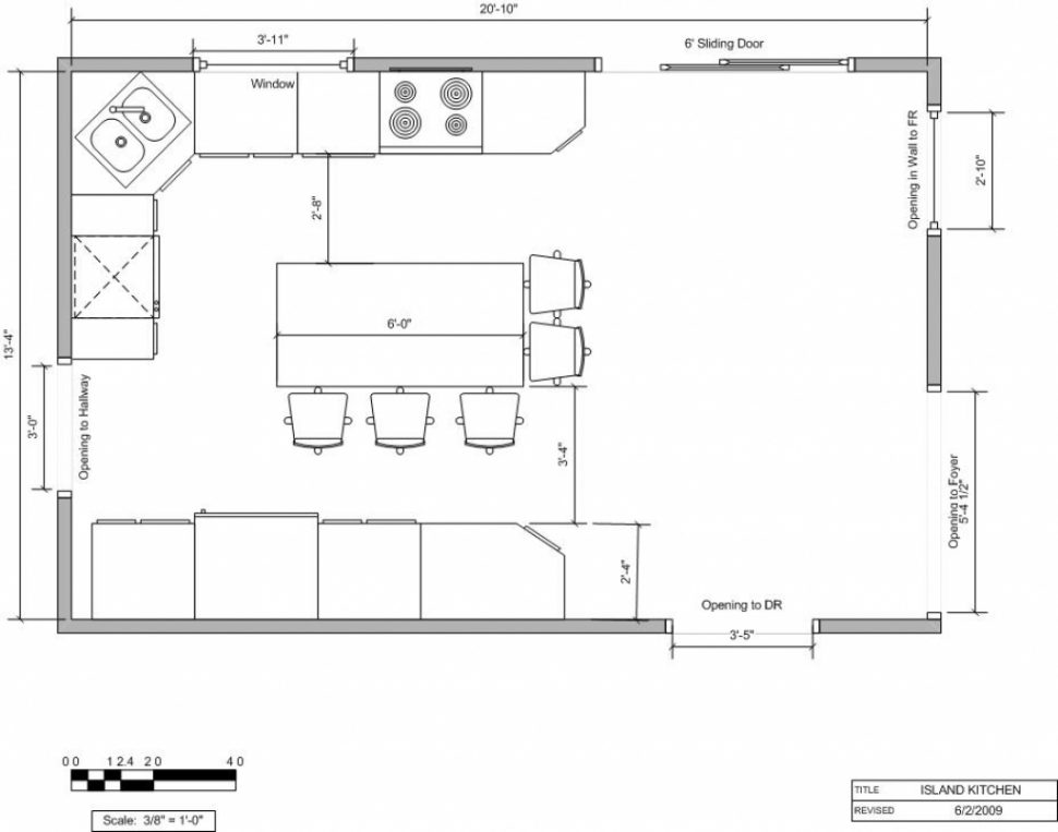 L shaped kitchen floor plan ideas | Hawk Haven