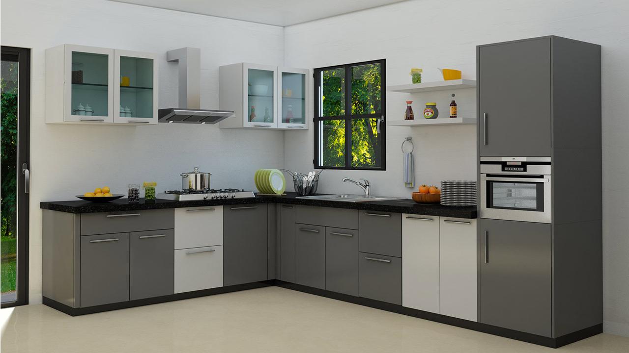 l shaped kitchen ideas photo - 10