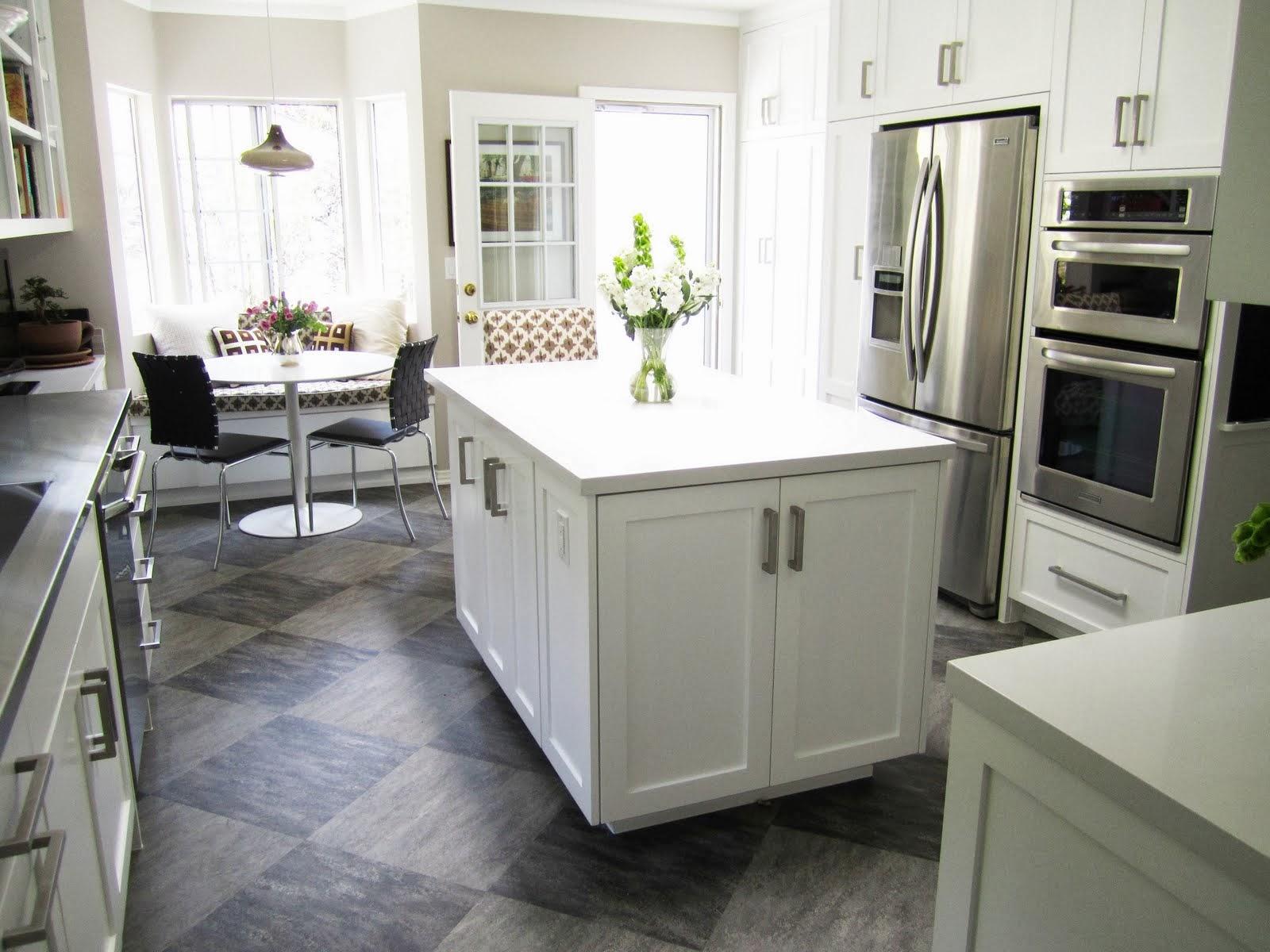 l shaped kitchen island photo - 9