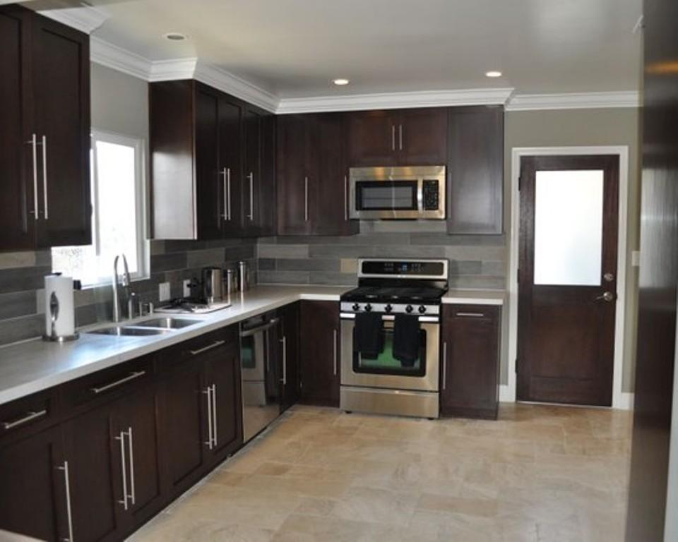 l shaped kitchen layout photo - 2