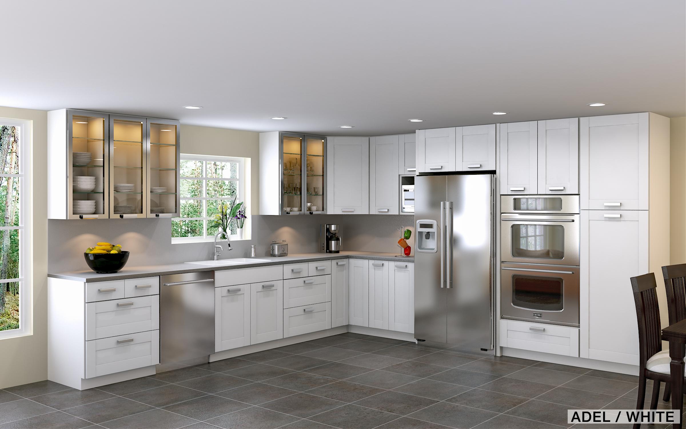 l shaped kitchen layout photo - 4